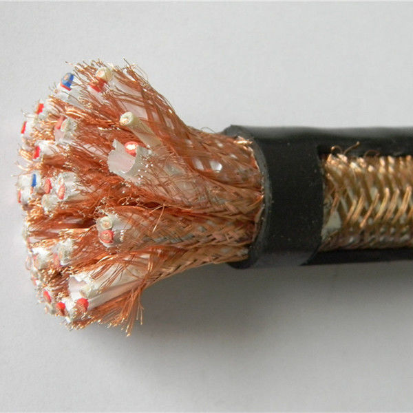 Flexible Control Cable With Braiding Shield CU/PVC/CWB/PVC 5G1.5mm2